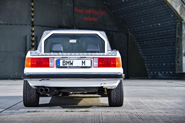 BMW M3 Pickup back