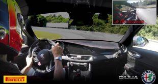 Video: Alfa Romeo Giulia Quadrifoglio laps the Nürburgring in 7:32