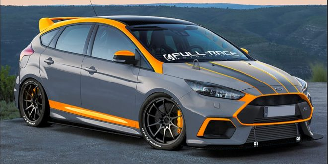 Ford bringing three hot Focus RS to SEMA