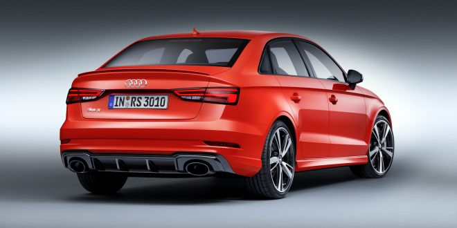 2017 Audi RS 3 Sedan unveiled with 294kW 5-cyl. engine