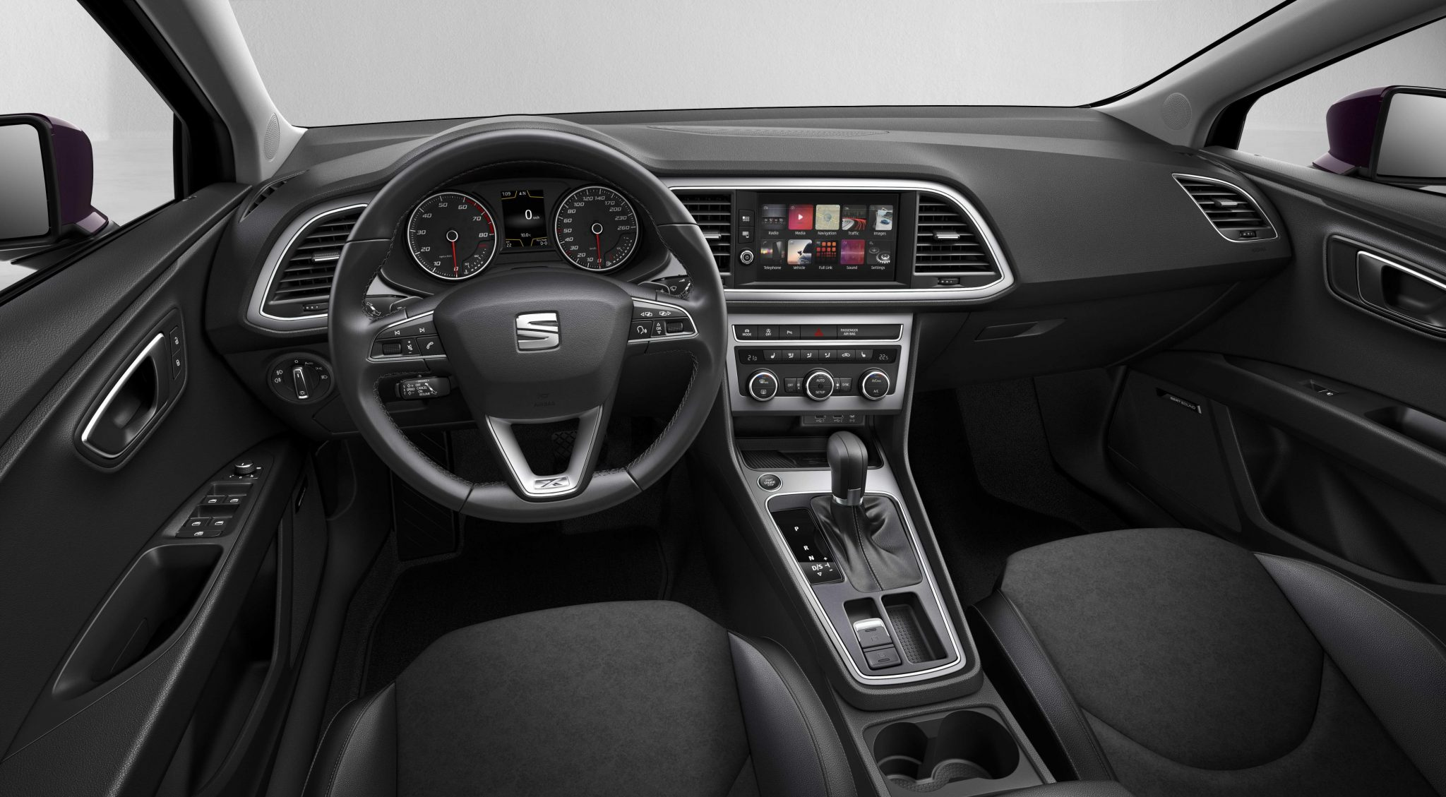 Seat unveils updated 2017 seat leon for Seat leon interior