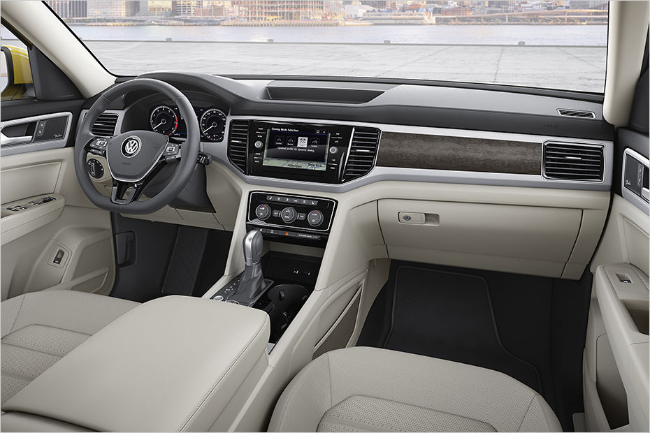 Volkswagen Atlas seven-seat SUV unveiled - ForceGT.com