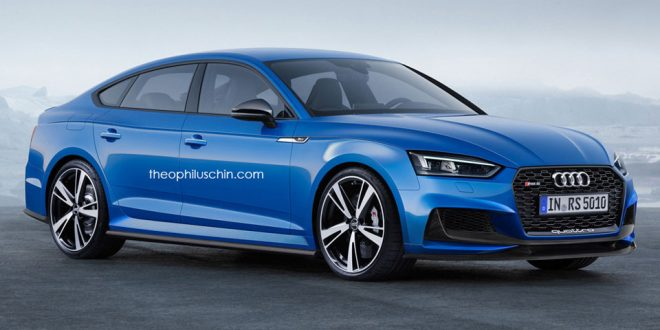 Is this the next-generation Audi RS5 Sportback?
