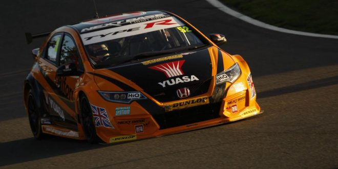 Honda Civic Type R wins at British Touring Car Championship