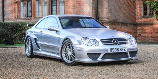 Ultra rare 2006 Mercedes-Benz CLK DTM AMG up for grabs