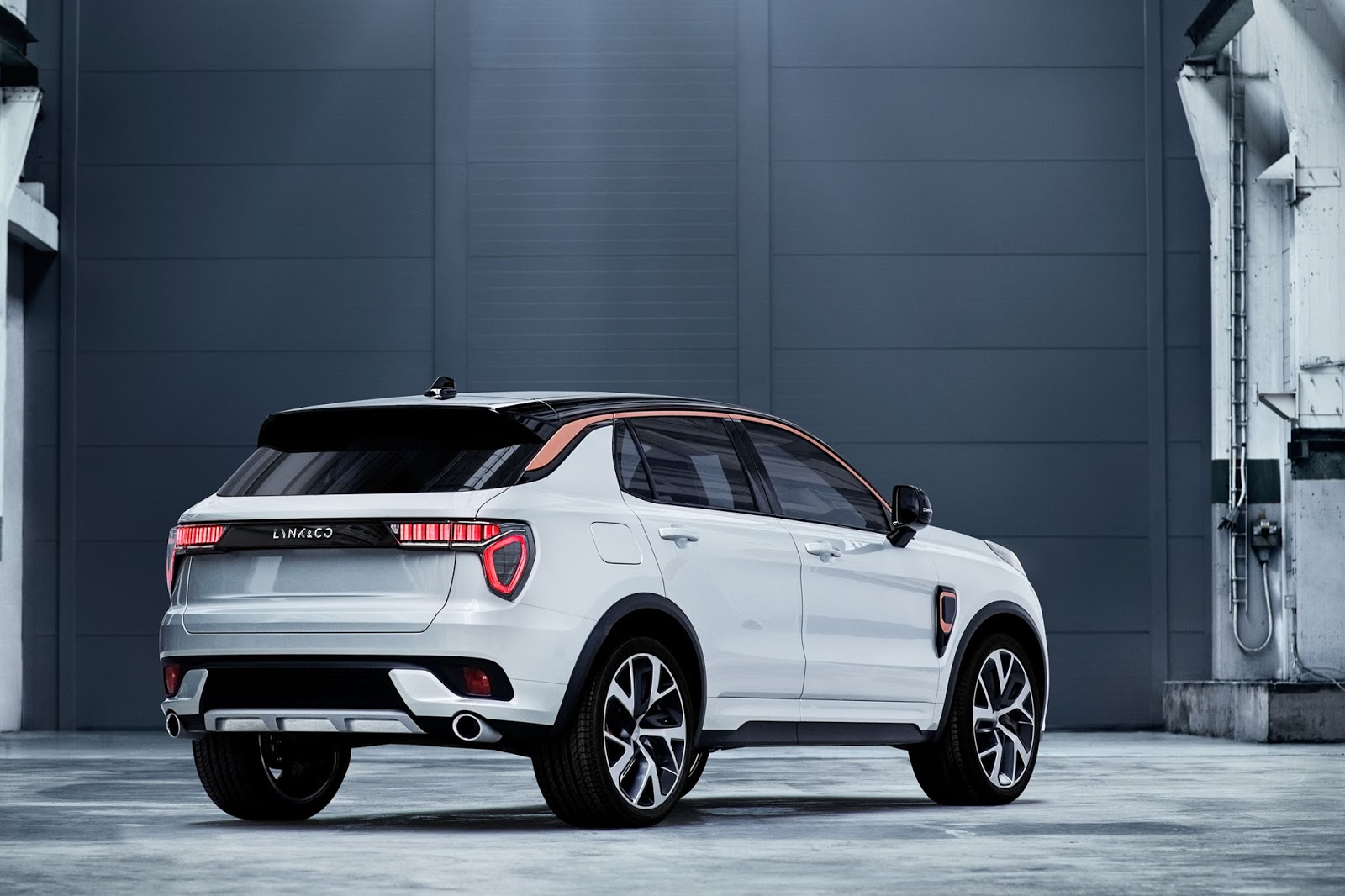 Geely's new Lynk & Co brand unveils its first model, the ...