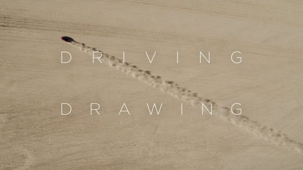 "Honda NSX recreates ""Hummingbird"" geoglyph in Californian desert <p data-wpview-marker="