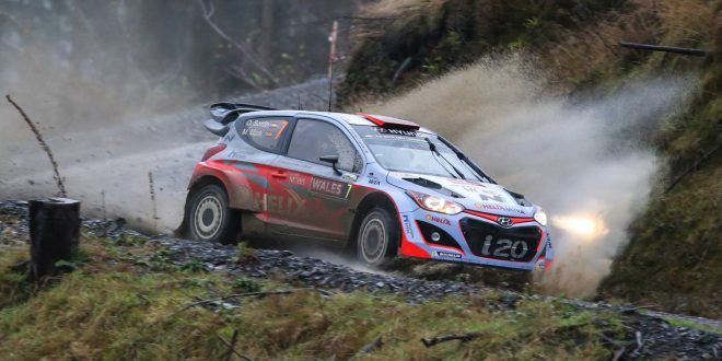 Hyundai targeting podium in Wales Rally GB round of WRC