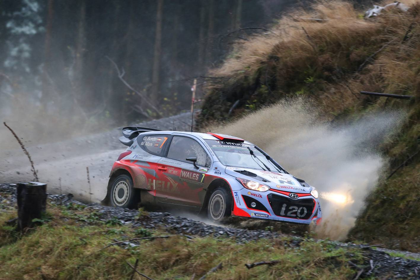 hyundai targeting podium in wales rally gb round of wrc. Black Bedroom Furniture Sets. Home Design Ideas