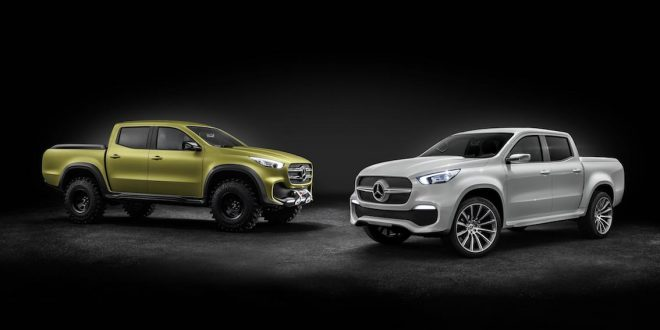 Mercedes-Benz X-Class sets to bring style to the premium ute segment