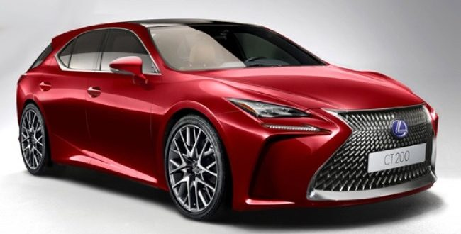 Is this the next-generation Lexus CT?