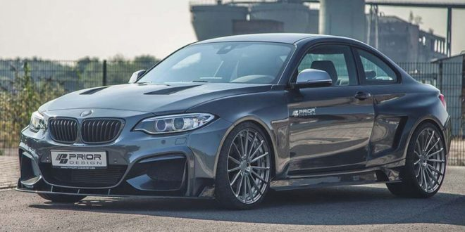 Prior Design turns the heat up on BMW M2 with widebody kit