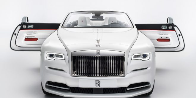 Rolls-Royce unveils Dawn Inspired by Fashion