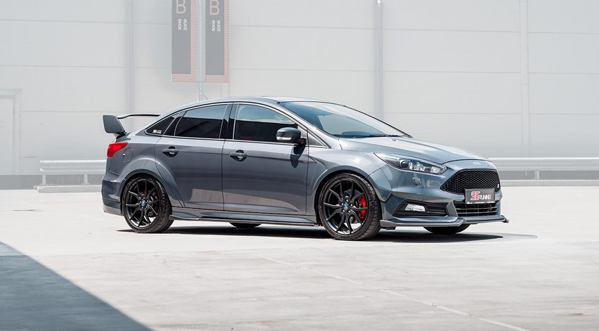 ss tuning presents ford focus st sedan. Black Bedroom Furniture Sets. Home Design Ideas