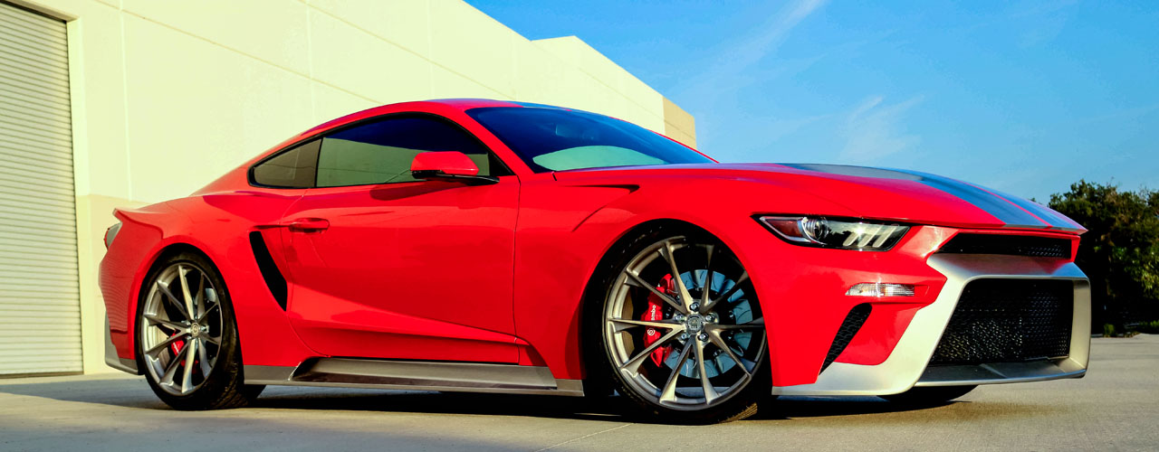 Zero to 60 Designs to unveil Ford Mustang and Ford GT mashup at SEMA ...