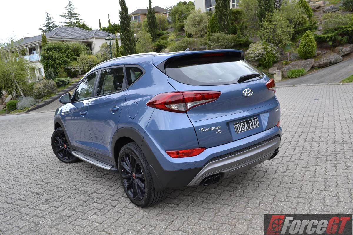 2016 hyundai tucson 39 30 39 special edition review. Black Bedroom Furniture Sets. Home Design Ideas