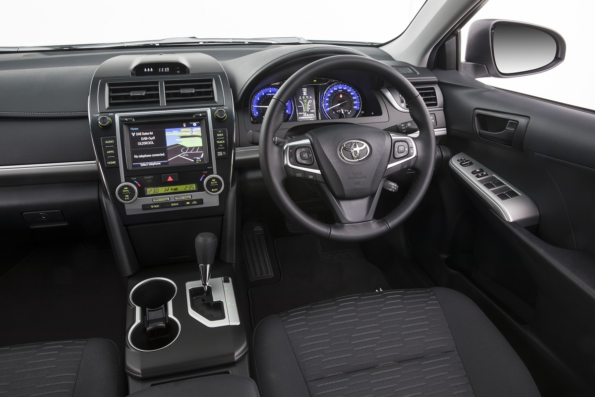 Toyota Camry Rz Relaunched With Sat Nav And Digital Radio