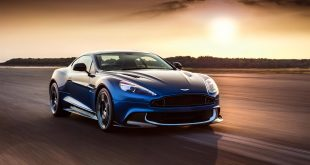 2017 aston martin vanquish s front three quarter in motion