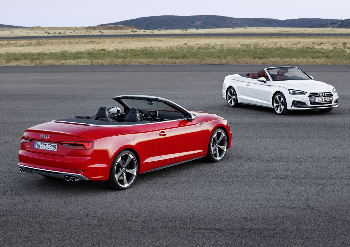 Bmw 5 Series 2016 >> 2017 Audi A5 and S5 Cabriolet unveiled - ForceGT.com