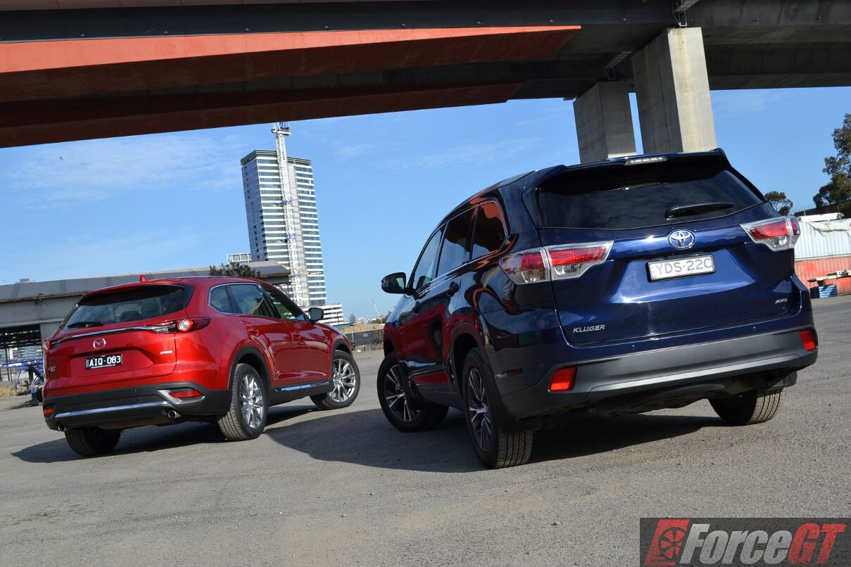 Mazda Cx Vs Toyota Kluger Comparison