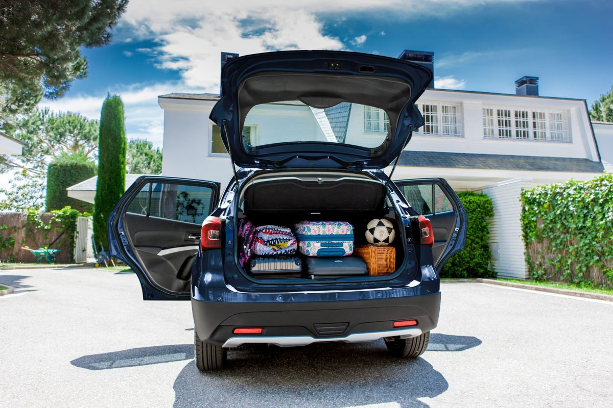 New suzuki s cross turbo aims for small suv crown - Small suv cargo space property ...