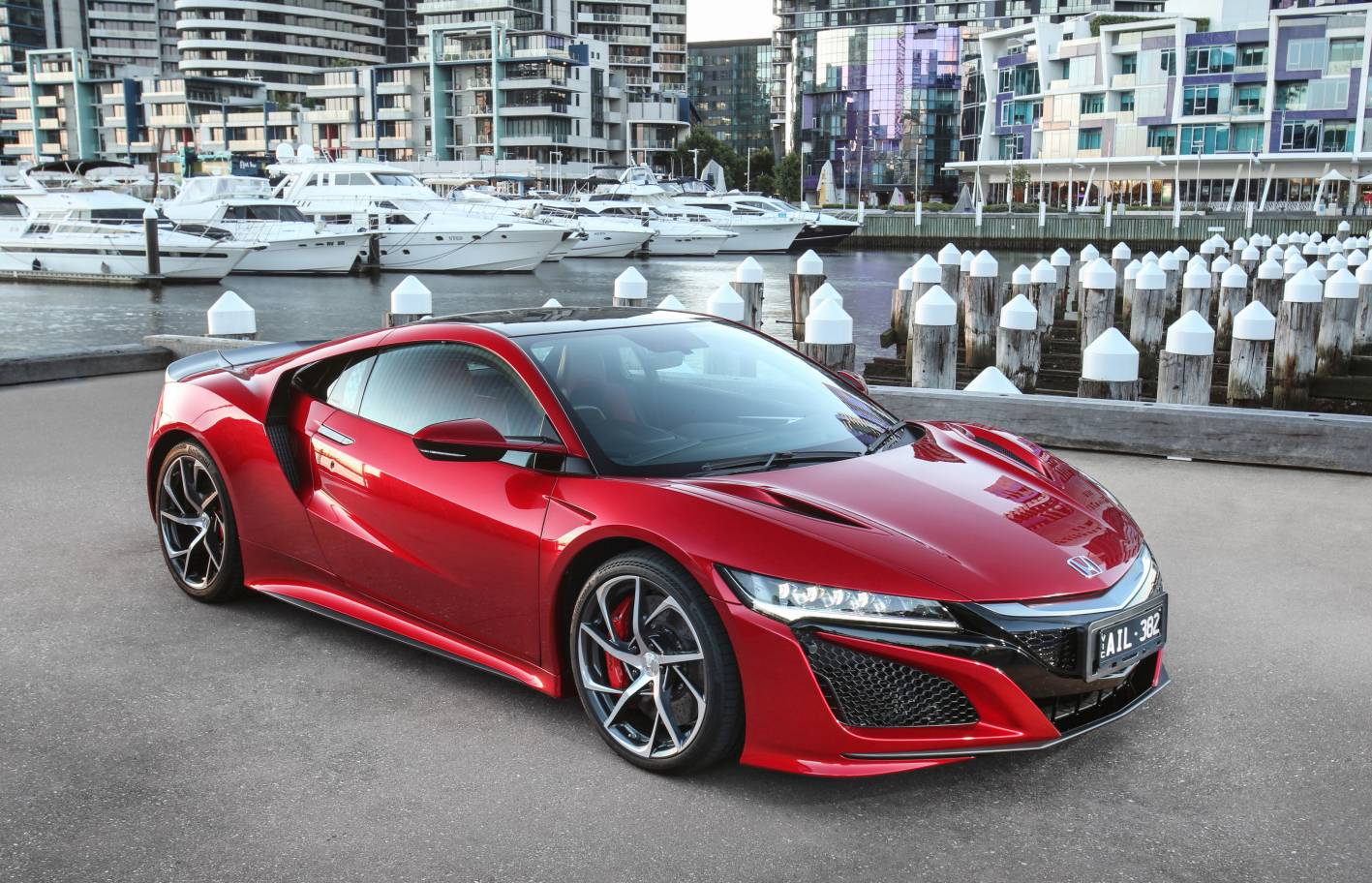 honda aims high for 2017 as first nsx delivered in. Black Bedroom Furniture Sets. Home Design Ideas