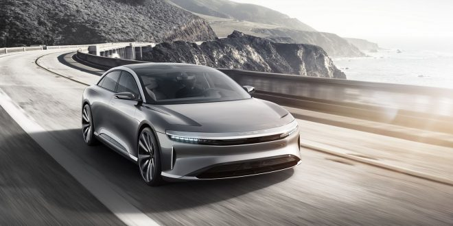 Unrestricted Lucid Air hits 378km/h [video]