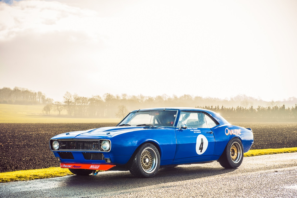 Historic 1968 Chevrolet Camaro race car up for sale ...
