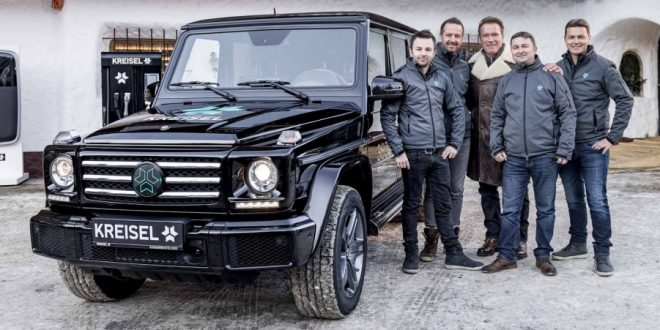 Arnold Schwarzenegger commissions all-electric Mercedes-Benz G-Wagen