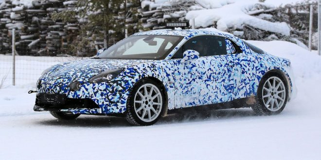 Production Renault Alpine A120 sports car first pics!