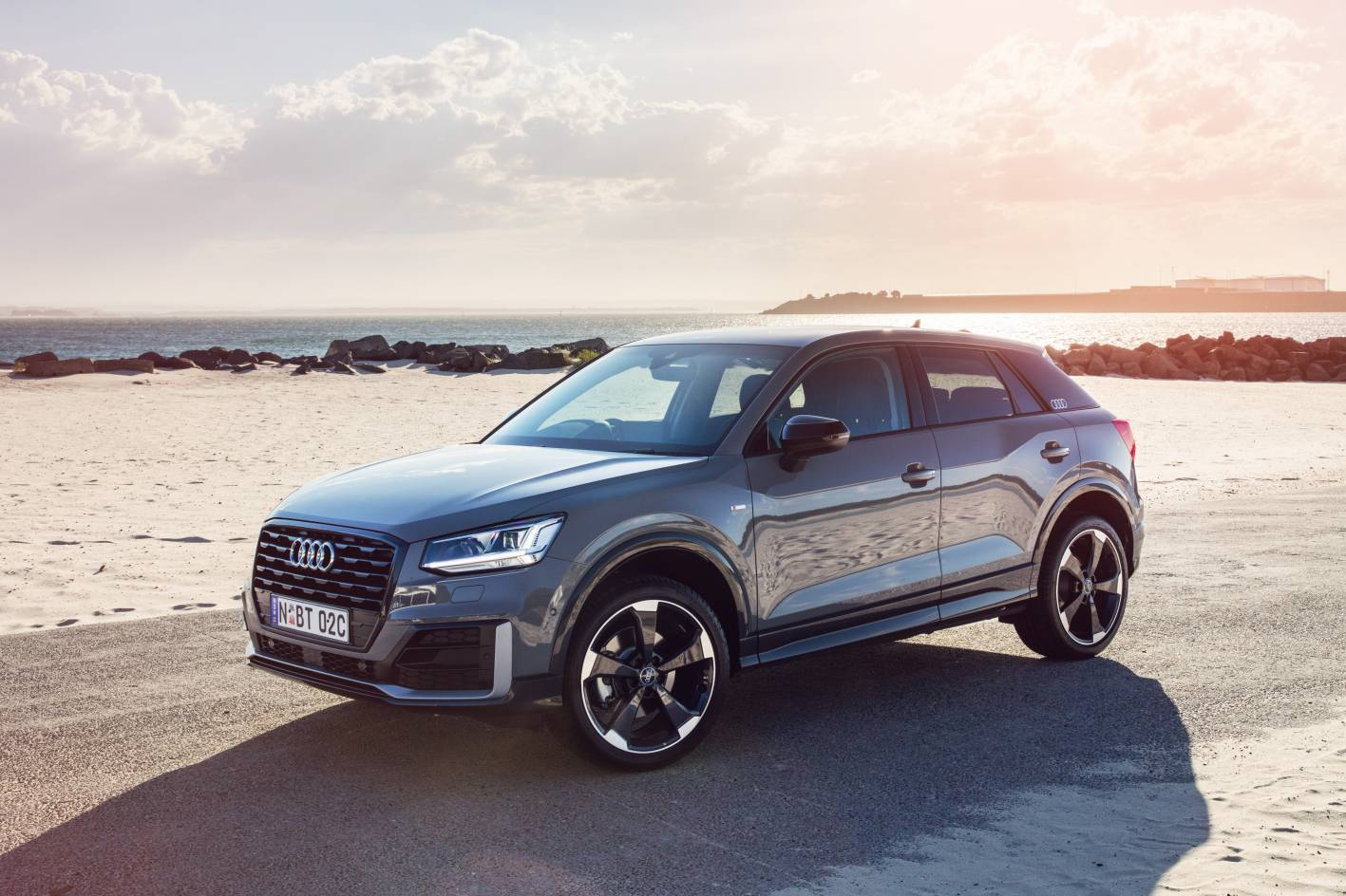 first ever audi q2 arrives as launch editions from 49 900. Black Bedroom Furniture Sets. Home Design Ideas