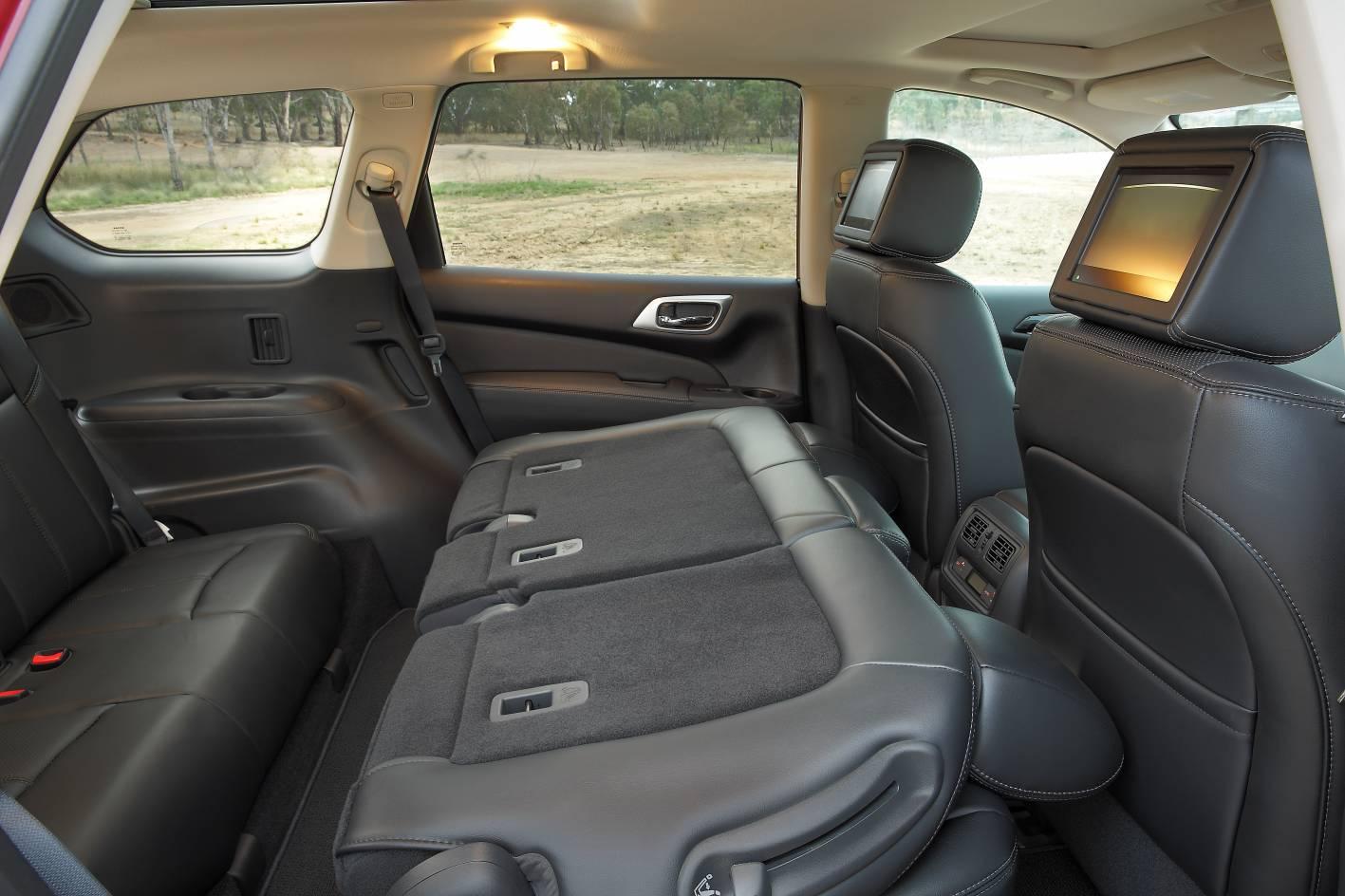 2017 Nissan Pathfinder Third Row Seats