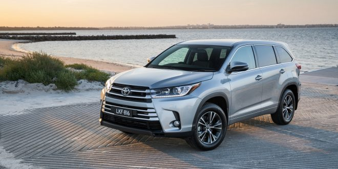 2017 Toyota Kluger Grande AWD Review