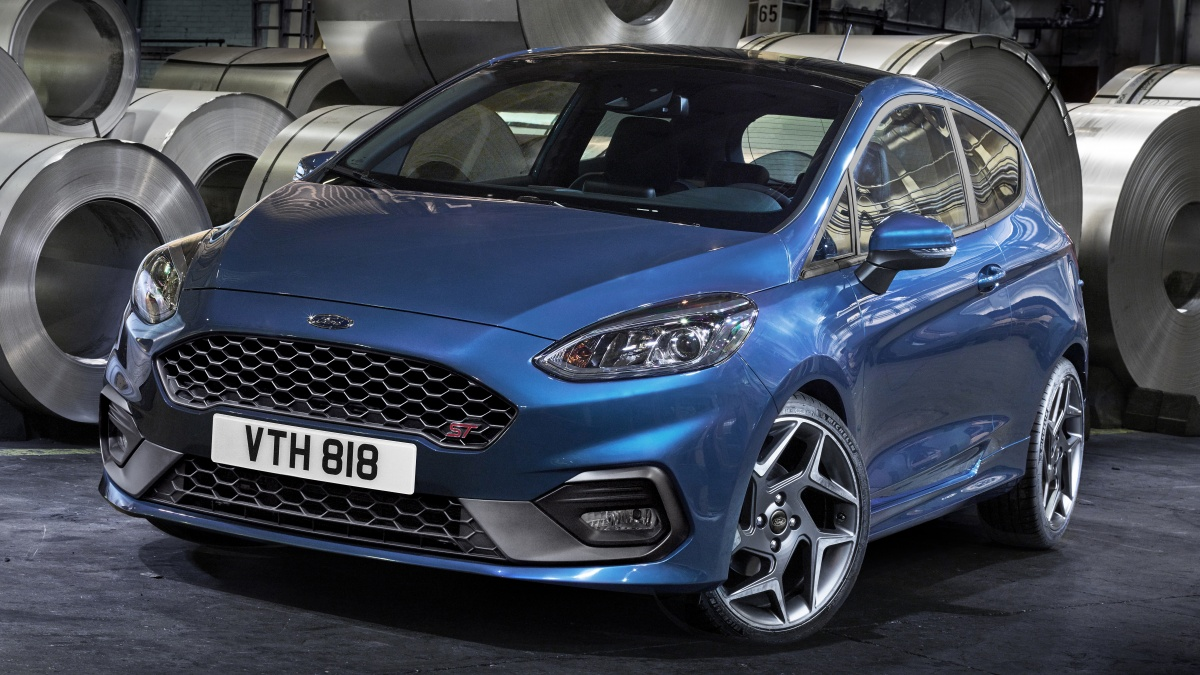 2018 ford fiesta st unveiled with 147kw 1 5 litre turbo engine. Black Bedroom Furniture Sets. Home Design Ideas