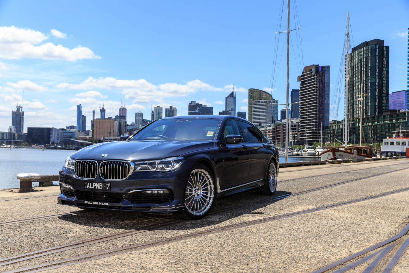 Low Volume German Manufacturer ALPINA Has Brought In A New Flagship To Join Its Range Of Bespoke BMW Based Vehicles Australia The B7 Bi Turbo