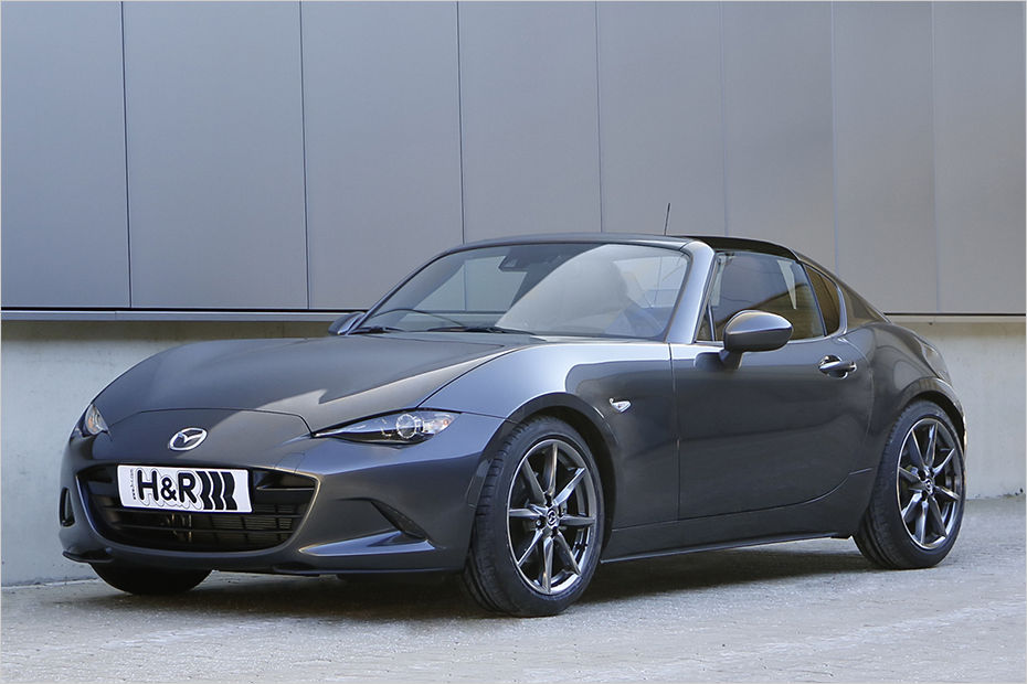 mazda mx 5 rf dropped on h r springs and spacer package. Black Bedroom Furniture Sets. Home Design Ideas