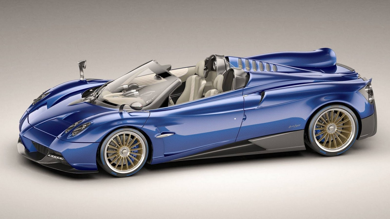 New Pagani Huayra Roadster unveiled ahead of Geneva debut ...