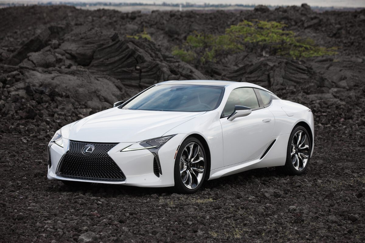 Lexus showcases stunning details of LC coupe in new photos ...