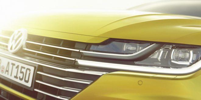 Volkswagen teases new Arteon four-door coupe
