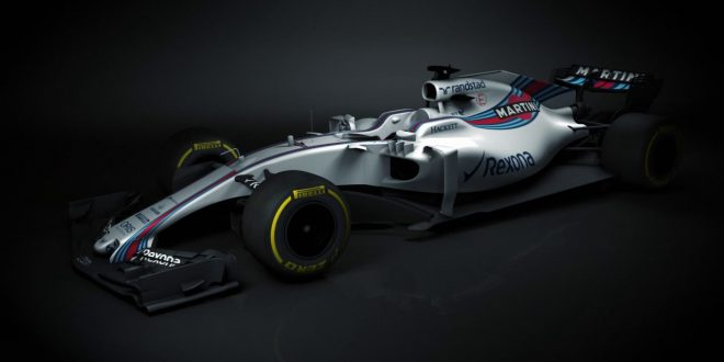 Williams unveils 2017 season FW40 Formula One car in first pics