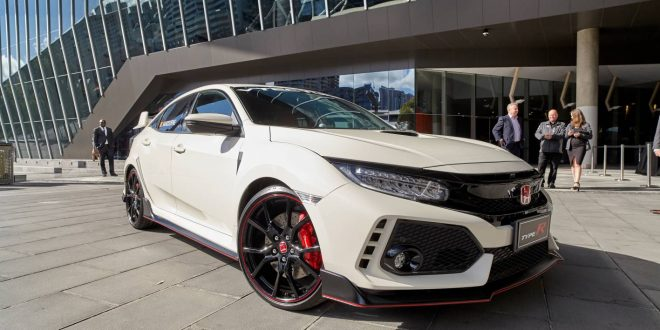 Honda Civic Type R makes early arrival ahead of Australian Grand Prix