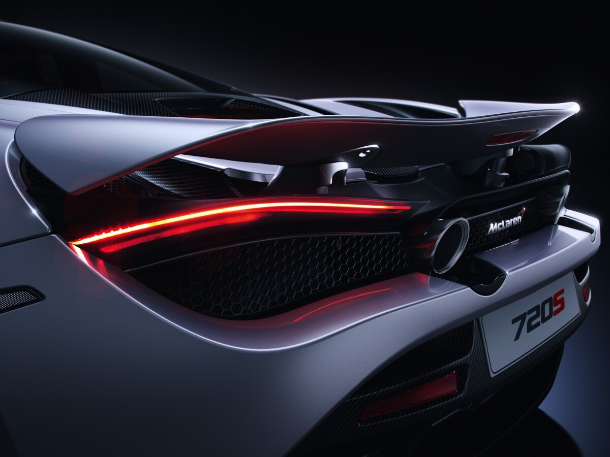 Mclaren 720s Revealed With Full Specification And