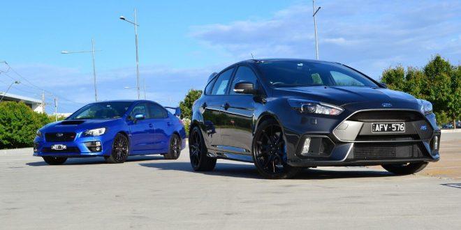 Head to Head: Subaru WRX STI vs Ford Focus RS Review