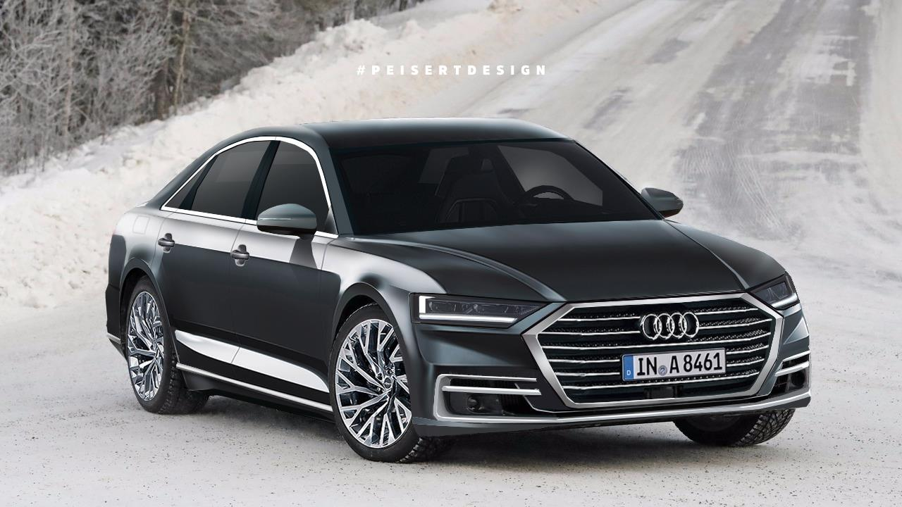 2018 audi a8 envisioned. Black Bedroom Furniture Sets. Home Design Ideas