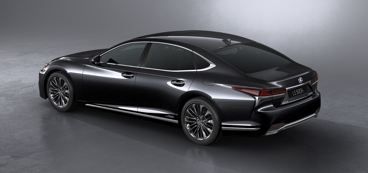 lexus ls 500h officially unveiled full specification announced. Black Bedroom Furniture Sets. Home Design Ideas