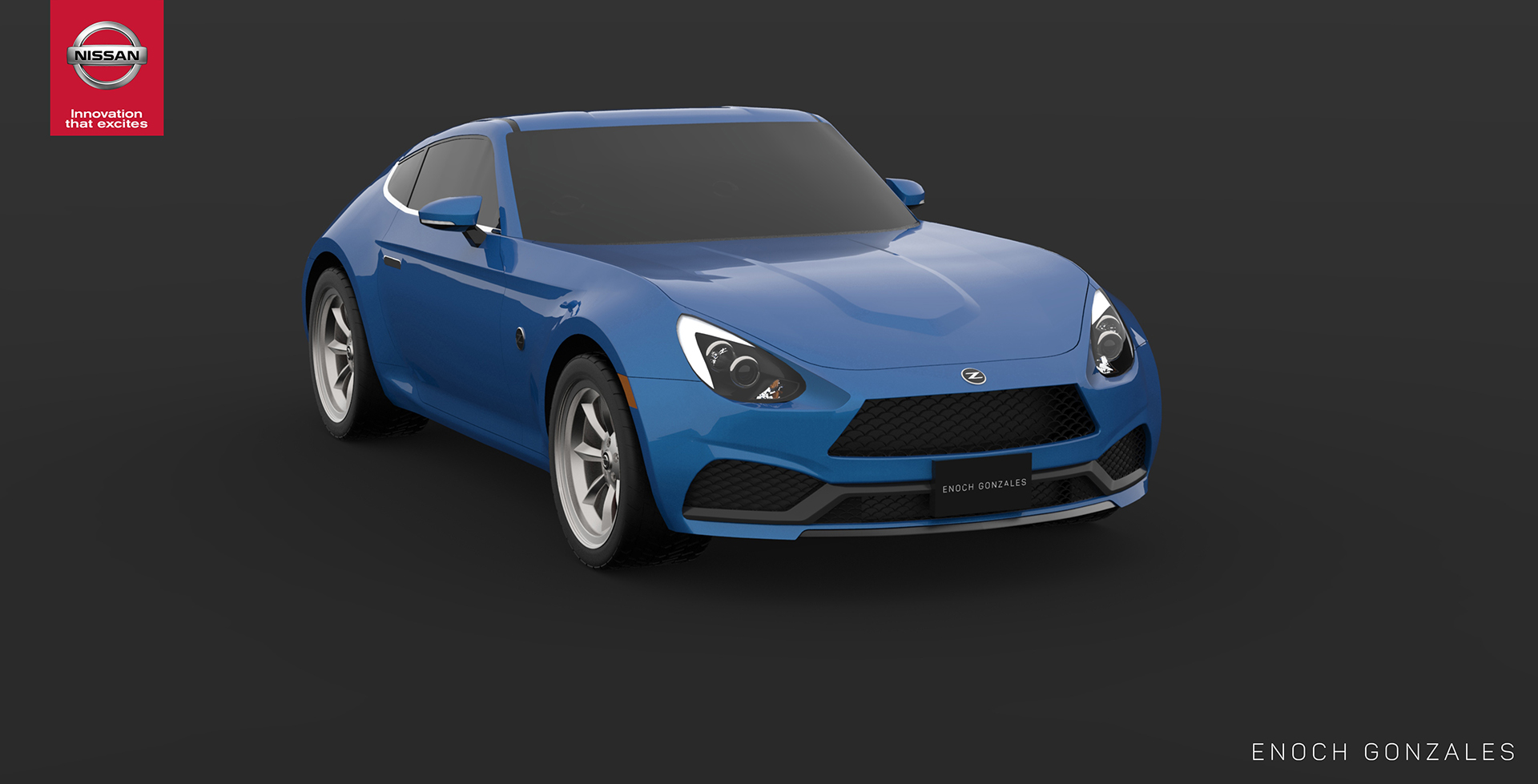 Nissan Fairlady Z Th Anniversary Enoch Gonzales Render Front Quarter