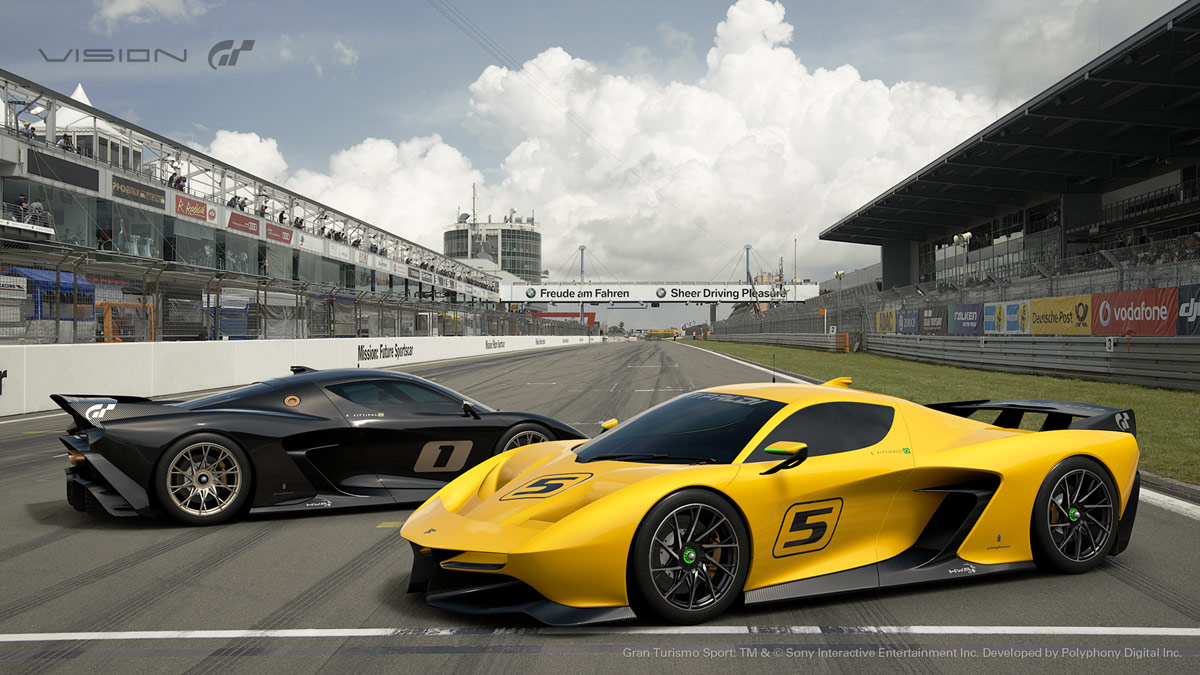 fittipaldi ef7 vision gran turismo by pininfarina unveiled. Black Bedroom Furniture Sets. Home Design Ideas