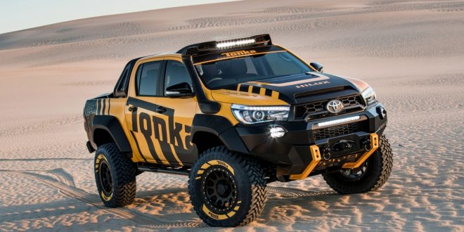 Toyota Hilux Tonka Concept is king of the sandpit