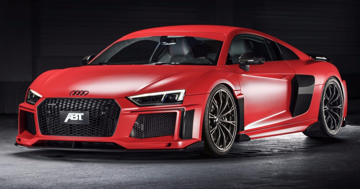 Abt Pumps Up Audi R8 V10 Plus To 463kw And Killer Body Kit