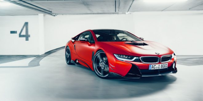 AC Schnitzer dials up BMW i8's sex appeal